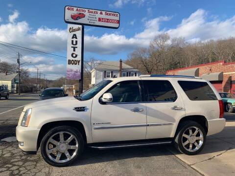 2008 Cadillac Escalade for sale at 401 Auto Sales & Service in Smithfield RI