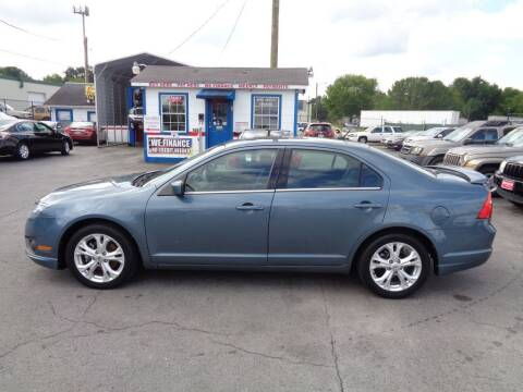 2012 Ford Fusion for sale at Cars Unlimited Inc in Lebanon TN