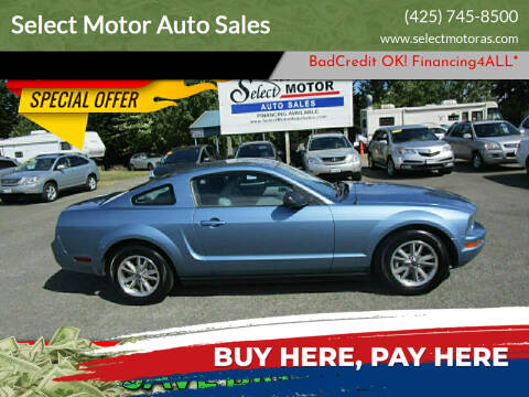 2005 Ford Mustang for sale at Select Motor Auto Sales in Lynnwood WA