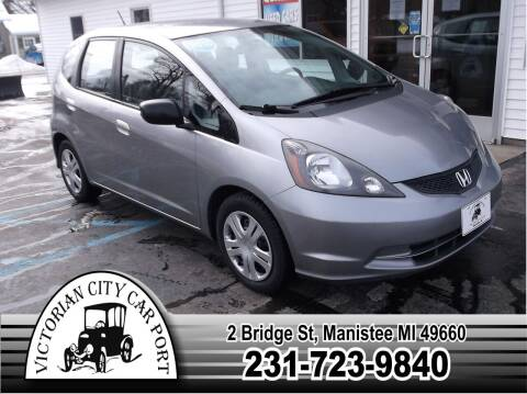 2010 Honda Fit for sale at Victorian City Car Port INC in Manistee MI
