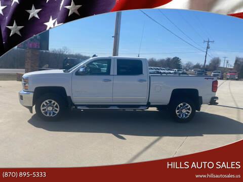 2019 Chevrolet Silverado 2500HD for sale at Hills Auto Sales in Salem AR