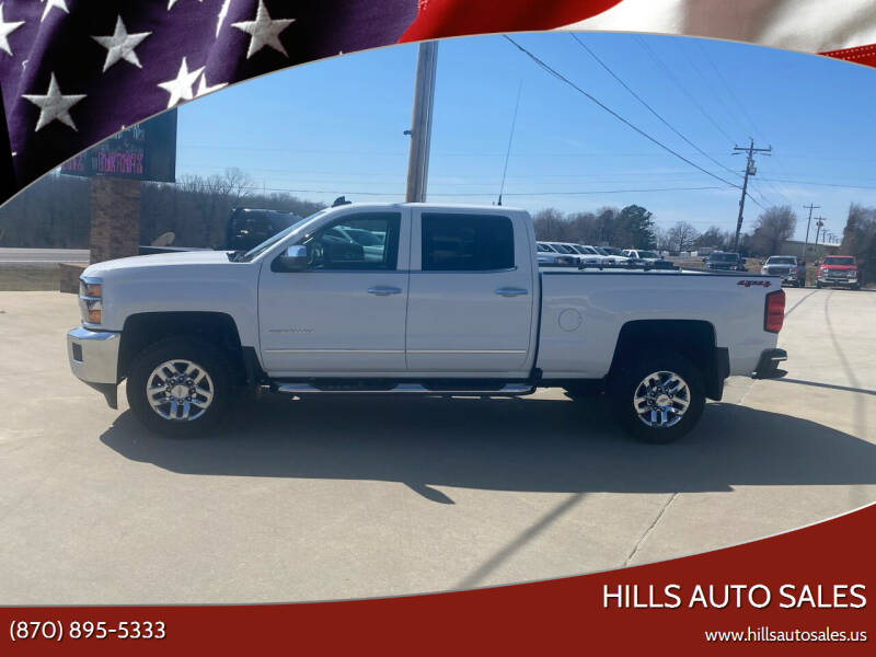 2019 Chevrolet Silverado 2500HD for sale at Hills Auto Sales in Salem AR