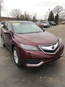 2016 Acura RDX for sale at Newcombs Auto Sales in Auburn Hills MI