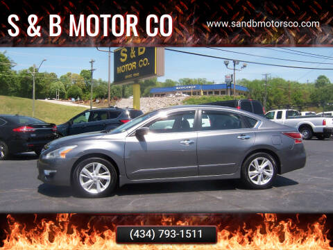 2014 Nissan Altima for sale at S & B MOTOR CO in Danville VA