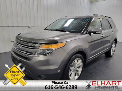 2013 Ford Explorer for sale at Elhart Automotive Campus in Holland MI