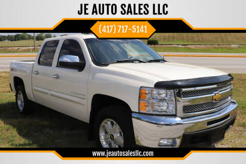 2012 Chevrolet Silverado 1500 for sale at JE AUTO SALES LLC in Webb City MO