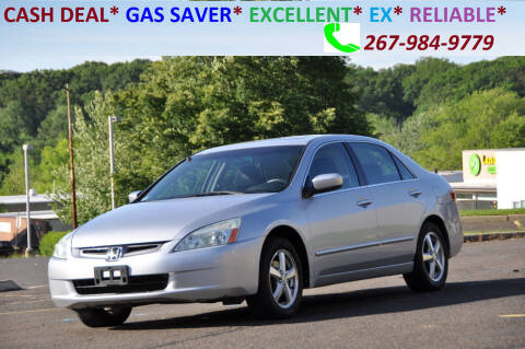 2004 Honda Accord for sale at T CAR CARE INC in Philadelphia PA