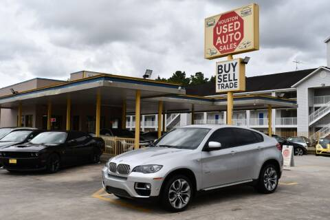2013 BMW X6 for sale at Houston Used Auto Sales in Houston TX