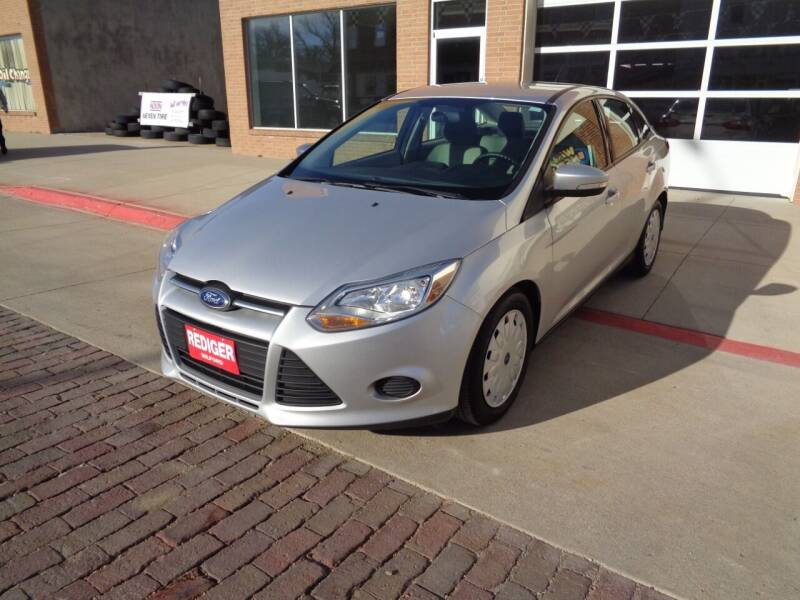 2014 Ford Focus for sale at Rediger Automotive in Milford NE
