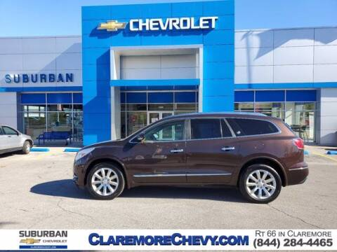 2016 Buick Enclave for sale at Suburban Chevrolet in Claremore OK