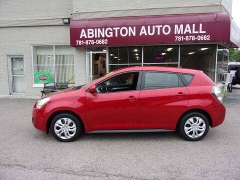 2009 Pontiac Vibe for sale at Abington Auto Mall LLC in Abington MA
