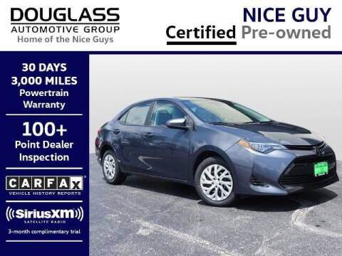 2018 Toyota Corolla for sale at Douglass Automotive Group - Douglas Volkswagen in Bryan TX