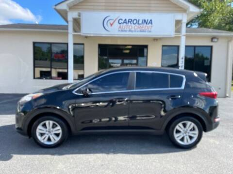 2017 Kia Sportage for sale at Carolina Auto Credit in Youngsville NC