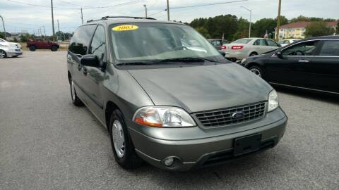 2003 Ford Windstar for sale at Kelly & Kelly Supermarket of Cars in Fayetteville NC