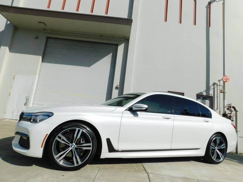 2018 BMW 7 Series for sale at Conti Auto Sales Inc in Burlingame CA