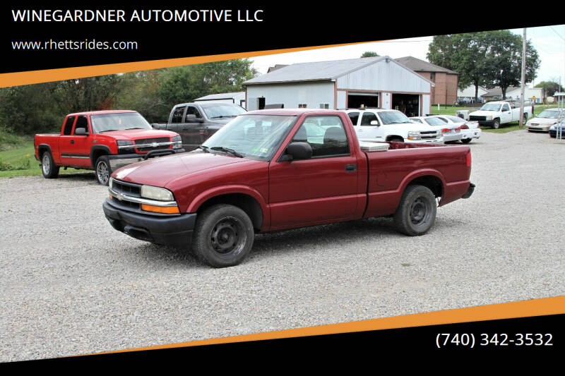 2003 Chevrolet S-10 for sale at WINEGARDNER AUTOMOTIVE LLC in New Lexington OH