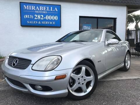 2002 Mercedes-Benz SLK for sale at Mirabella Motors in Tampa FL