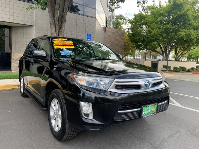 2013 Toyota Highlander Hybrid for sale at Right Cars Auto Sales in Sacramento CA