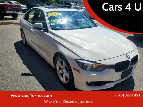 2014 BMW 3 Series for sale at Cars 4 U in Haverhill MA