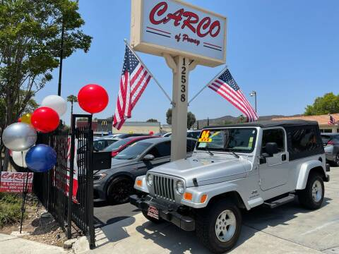 2006 Jeep Wrangler for sale at CARCO SALES & FINANCE - CARCO OF POWAY in Poway CA