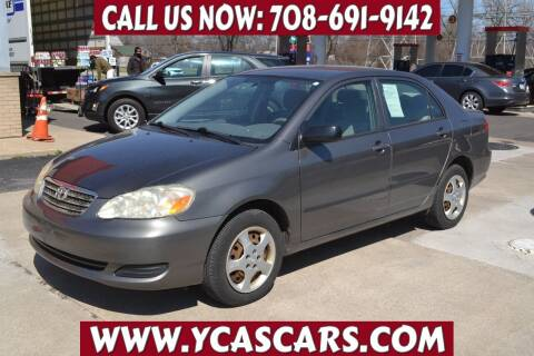 2005 Toyota Corolla for sale at Your Choice Autos - Crestwood in Crestwood IL