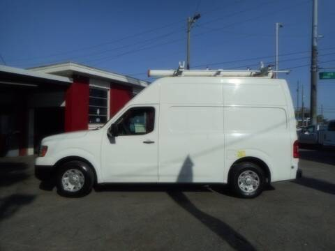 2012 Nissan NV Cargo for sale at Florida Suncoast Auto Brokers in Palm Harbor FL