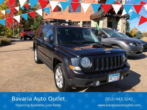 2014 Jeep Patriot for sale at Bavaria Auto Outlet in Victoria MN