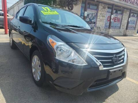 2017 Nissan Versa for sale at USA Auto Brokers in Houston TX