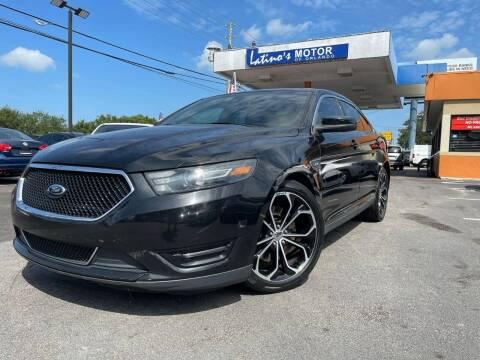 2013 Ford Taurus for sale at LATINOS MOTOR OF ORLANDO in Orlando FL
