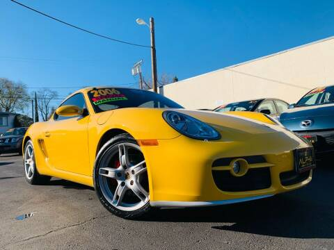 2006 Porsche Cayman for sale at Alpha AutoSports in Roseville CA