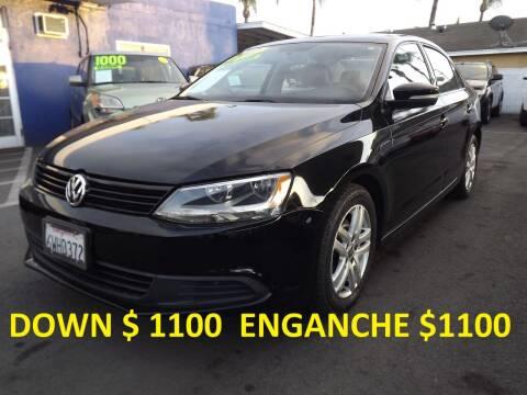 2012 Volkswagen Jetta for sale at PACIFICO AUTO SALES in Santa Ana CA