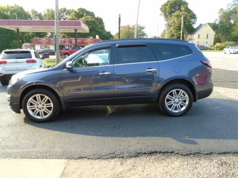 2014 Chevrolet Traverse for sale at Nelson Auto Sales in Toulon IL