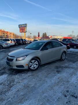 2013 Chevrolet Cruze for sale at Big Bills in Milwaukee WI