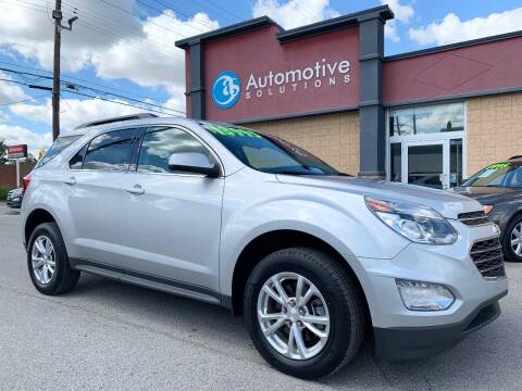 2017 Chevrolet Equinox for sale at Automotive Solutions in Louisville KY