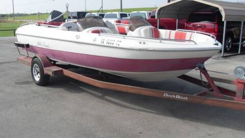 1993 DECK BOAT BOAT for sale at 277 Motors in Hawley TX