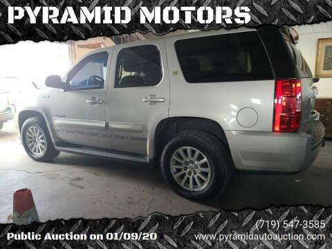 2009 GMC Yukon for sale at PYRAMID MOTORS - Pueblo Lot in Pueblo CO