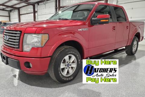 2010 Ford F-150 for sale at Hatcher's Auto Sales, LLC - Buy Here Pay Here in Campbellsville KY