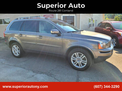 2012 Volvo XC90 for sale at Superior Auto in Cortland NY