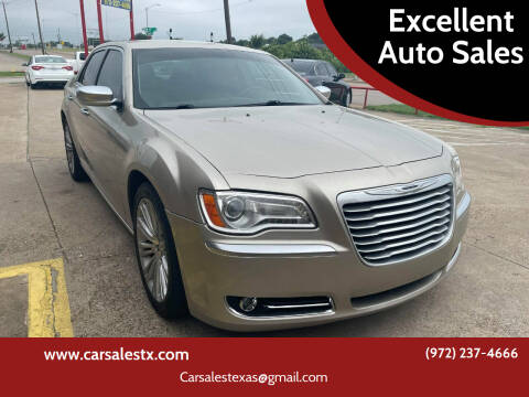 2012 Chrysler 300 for sale at Excellent Auto Sales in Grand Prairie TX