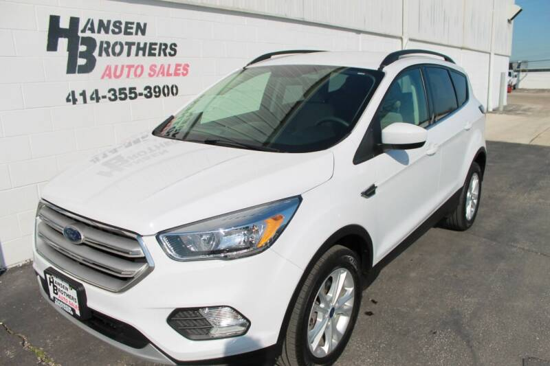 2018 Ford Escape for sale at HANSEN BROTHERS AUTO SALES in Milwaukee WI