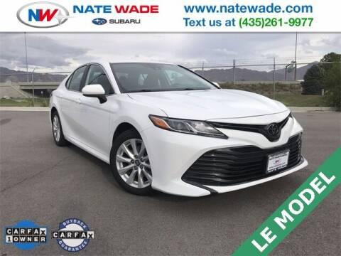 2019 Toyota Camry for sale at NATE WADE SUBARU in Salt Lake City UT