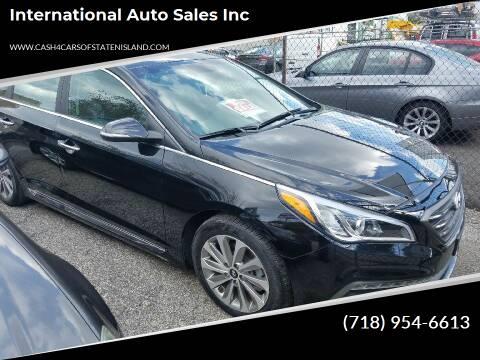 2017 Hyundai Sonata for sale at International Auto Sales Inc in Staten Island NY