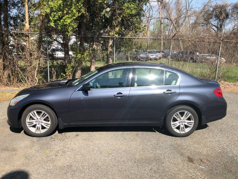 2011 Infiniti G25 Sedan for sale at New Look Auto Sales Inc in Indian Orchard MA