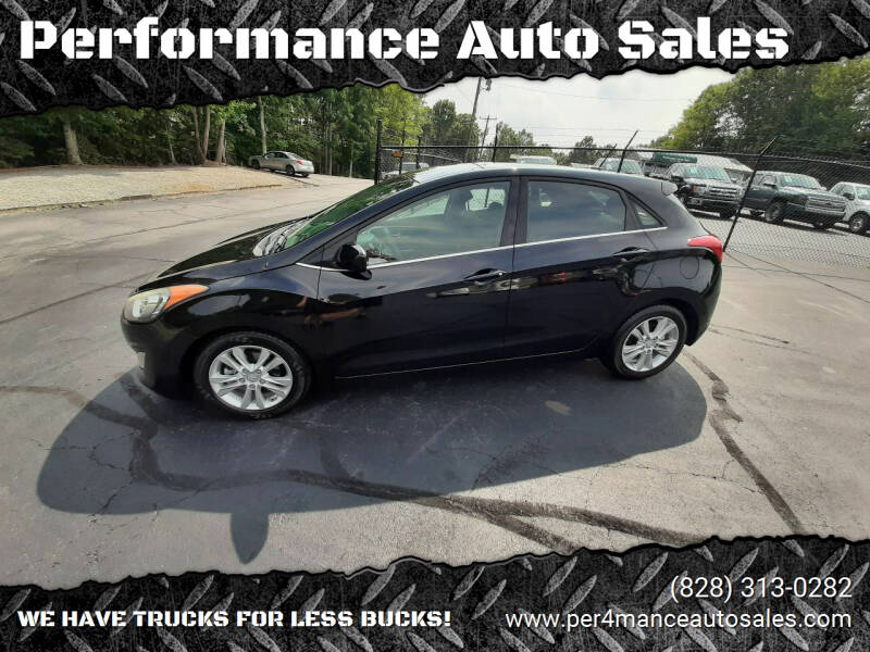2014 Hyundai Elantra GT for sale at Performance Auto Sales in Hickory NC