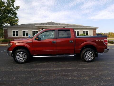 2014 Ford F-150 for sale at Pierce Automotive, Inc. in Antwerp OH