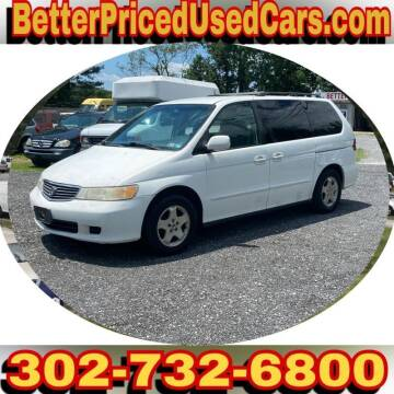 2001 Honda Odyssey for sale at Better Priced Used Cars in Frankford DE