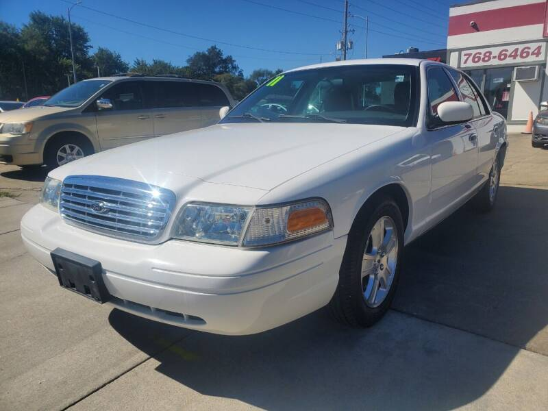 2011 Ford Crown Victoria for sale at Quallys Auto Sales in Olathe KS