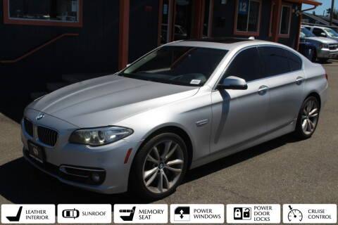2014 BMW 5 Series for sale at Sabeti Motors in Tacoma WA