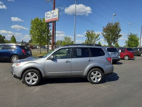 2010 Subaru Forester for sale at New Deal Used Cars in Spokane Valley WA