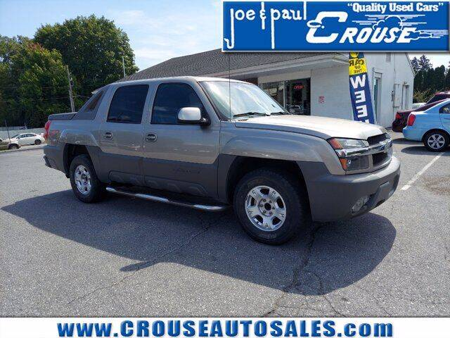 2002 Chevrolet Avalanche for sale at Joe and Paul Crouse Inc. in Columbia PA